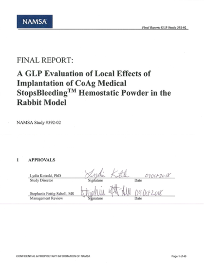 GLP Evaluation