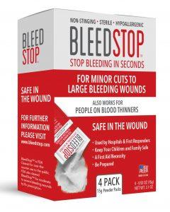 BleedStop 4 Package 15 Gram
